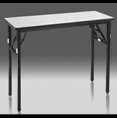 Folding Table with flip-up U-shaped table legs